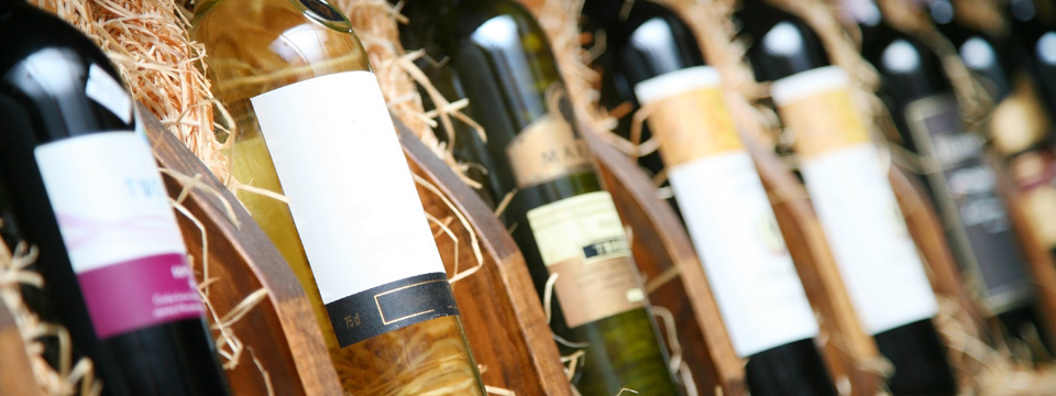 Wines selected from around the world